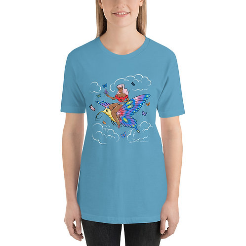 ButterFly Beautiful Pin Up Tee