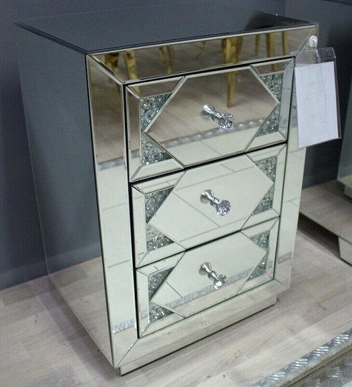 Spiegelkommode Kristalloptik 45 CM