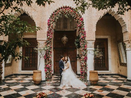 Riad, palais ou villa, quel lieu de réception choisir pour votre mariage à Marrakech?