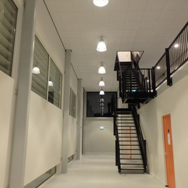 LGE Led verlichting in sporthal