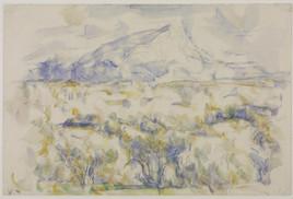 La Montagne Sainte-Victoire, 1905-6, Paul Cézanne