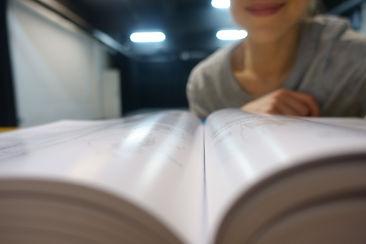 Studying in the studio.JPG