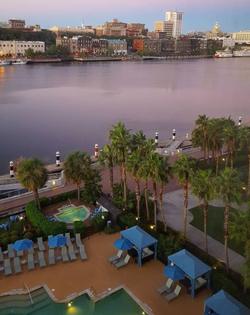 Savannah River Cityscape Photography