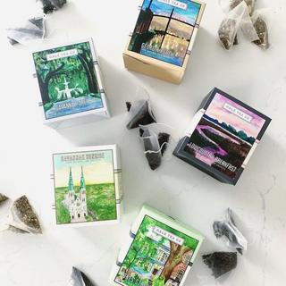 Art for Hale Tea Company Tea Boxes