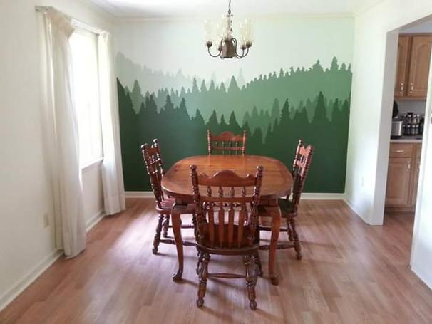 Living Room Forest