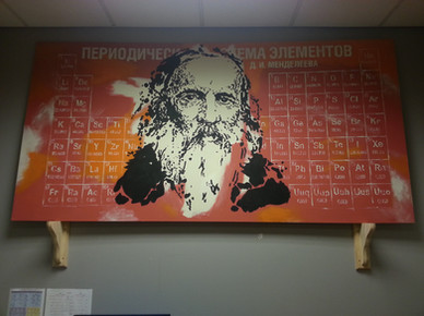 Mendeleev Office Painting