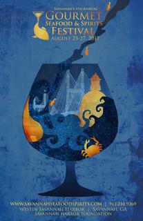 Savannah Seafood Festival Poster