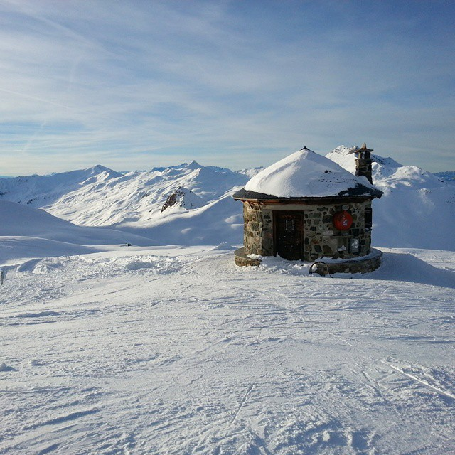 The little hut on top of the world