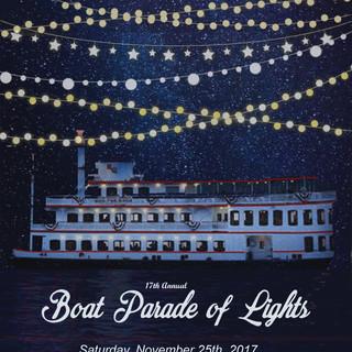 Boat Parade of Lights Branding