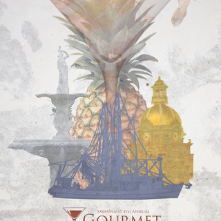 Savannah Gourmet Seafood & Spirits Branding
