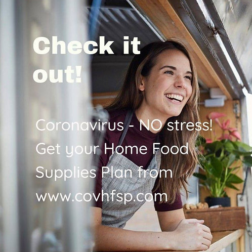 COVID-19 Food Plan - Because You Care.