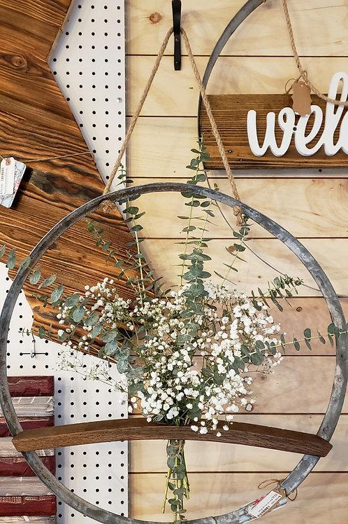 Wine Barrel Ring Wall Decor