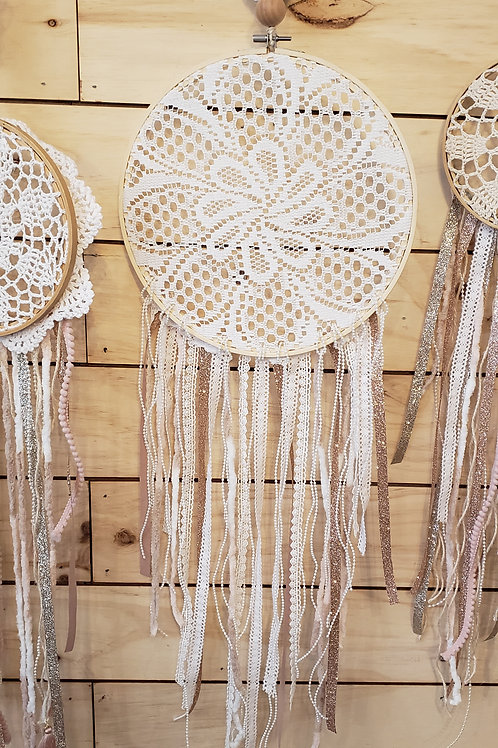 Large Doily Dream Catcher
