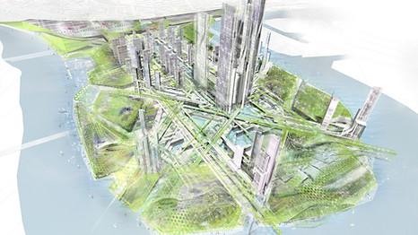 NEW CHINA CITY.SEGUNDO PREMIO
