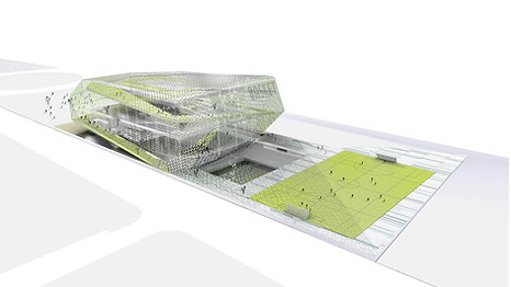 CENTRO ACCESIBILIDAD UNIUERSAL.Universal sports centre.Madrid
