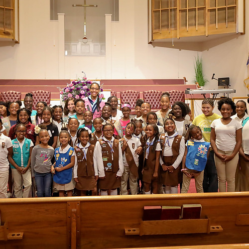Girl Scouts & A'ja Wilson Bullying Event