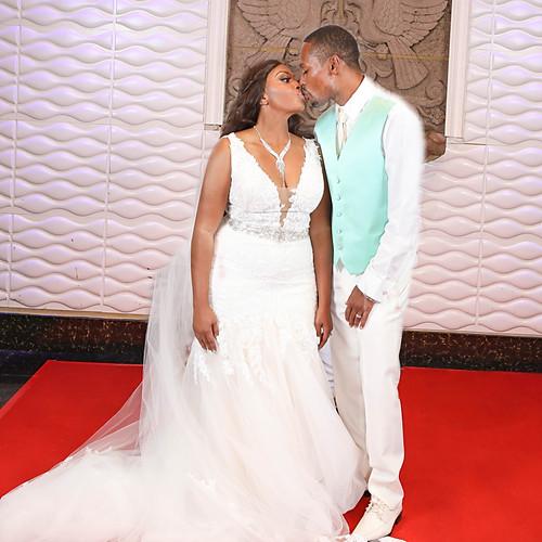 Carlos and Shakia's Wedding Day