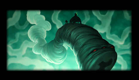 """Artwork for """"Germ"""" a Full lenght animated feature project. (2001)"""
