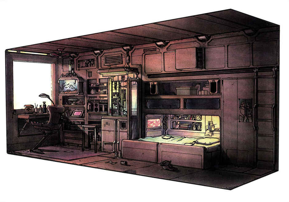 Zatman's apartment
