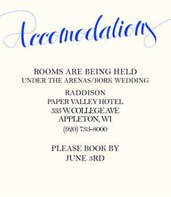 Royal Love accommodations