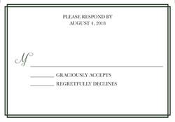Sweet Dreams response card