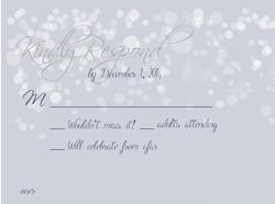 Falling Snowflakes Response Card