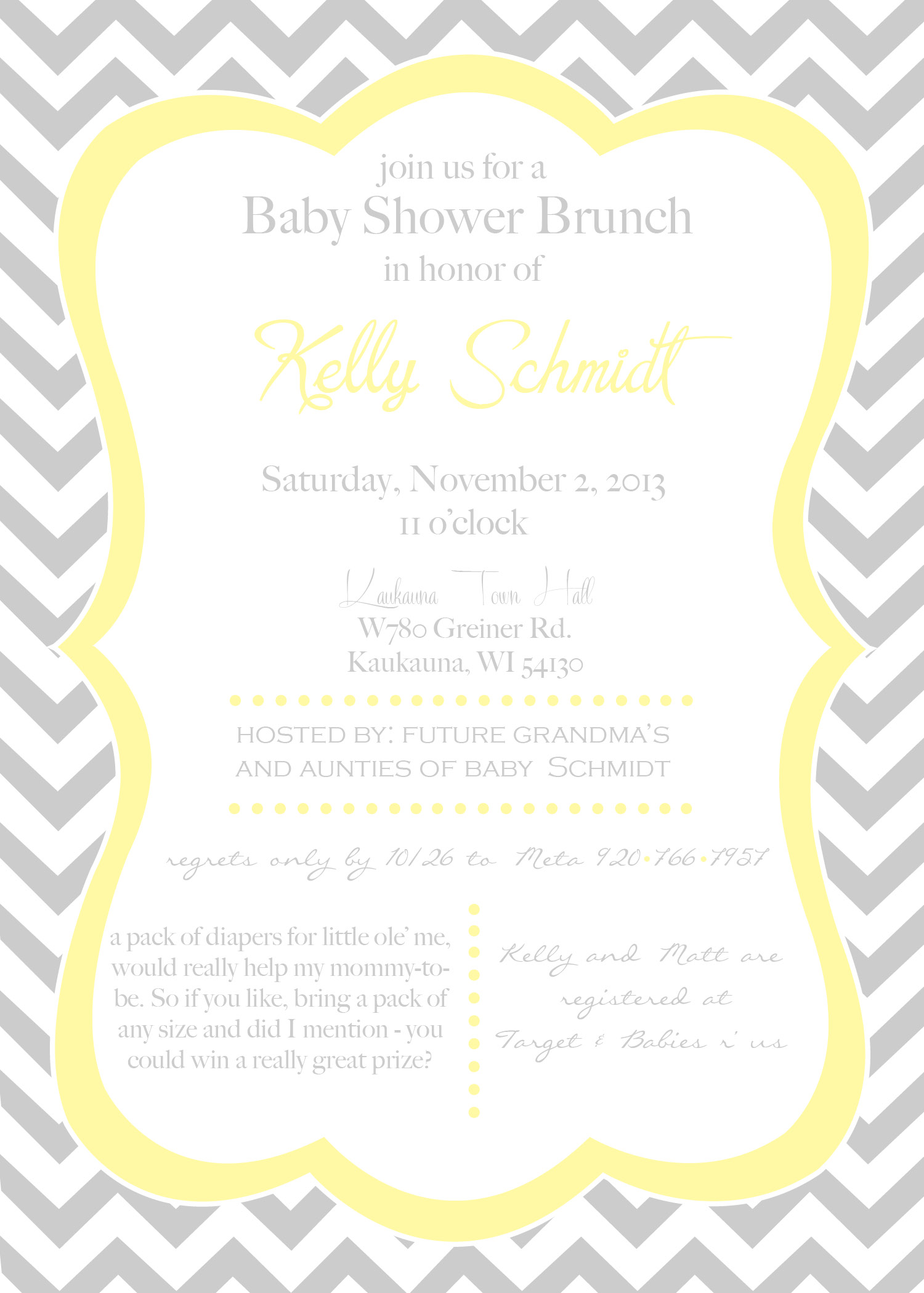 kelly baby shower