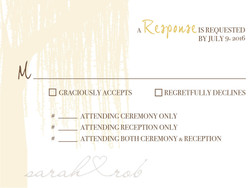 Under the Willow Tree response card