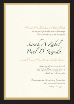 Sarah Zabel invite