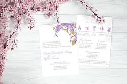 Lucious Lilacs wedding suite