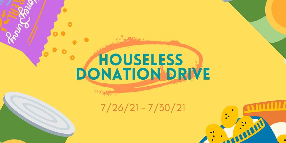 Houseless Donation Drive