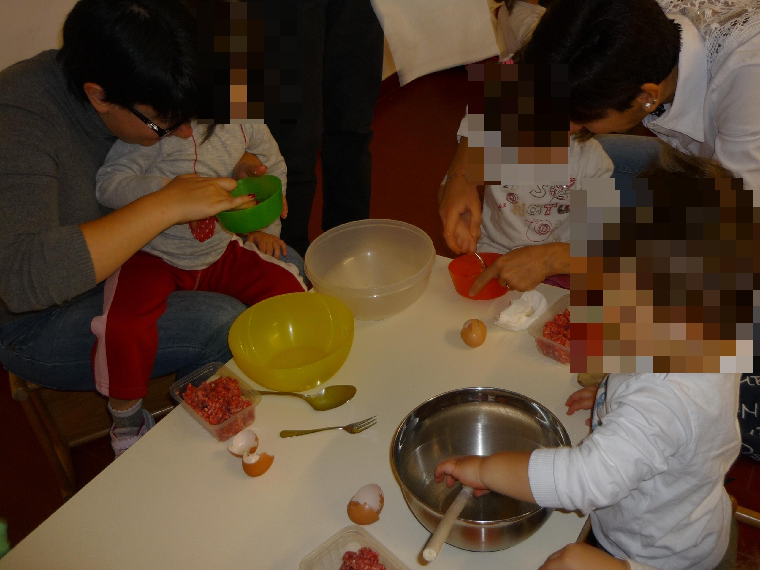 Laboratorio con le famiglie