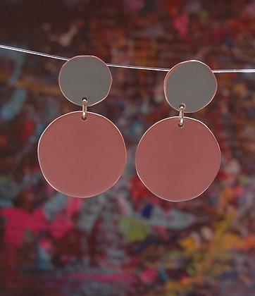 Polkadots - Light Grey/Pink