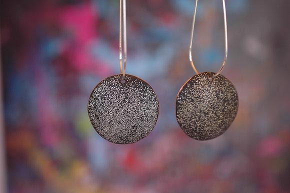 Comet Drops - Black Glitter