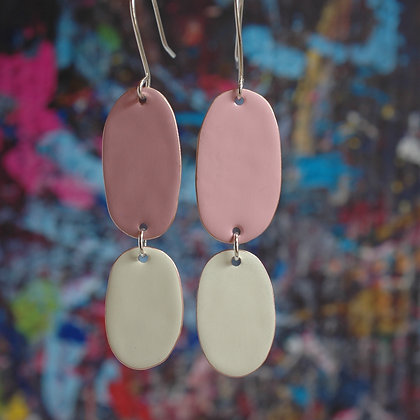 Double Drops - Dusk Pink/Ivory