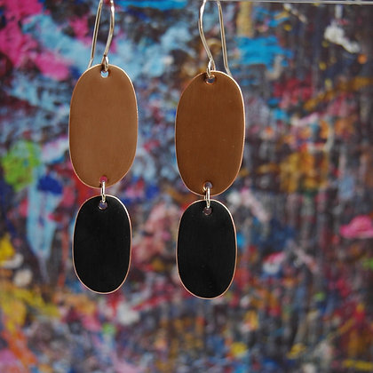 Double Drops - Brown/Black