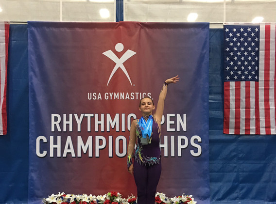 Rhythmic Open Championships 2021