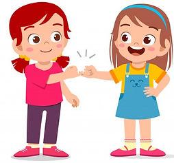 happy-cute-little-kid-girls-promise_9763
