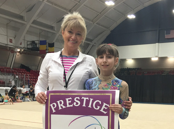 'Prestige' RGA participant of the National Open Championship and Future Stars test - 2018.