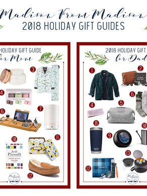 2018 Holiday Gift Guides: Announcement