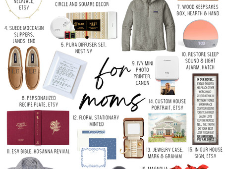 2020 Gift Guide for Moms