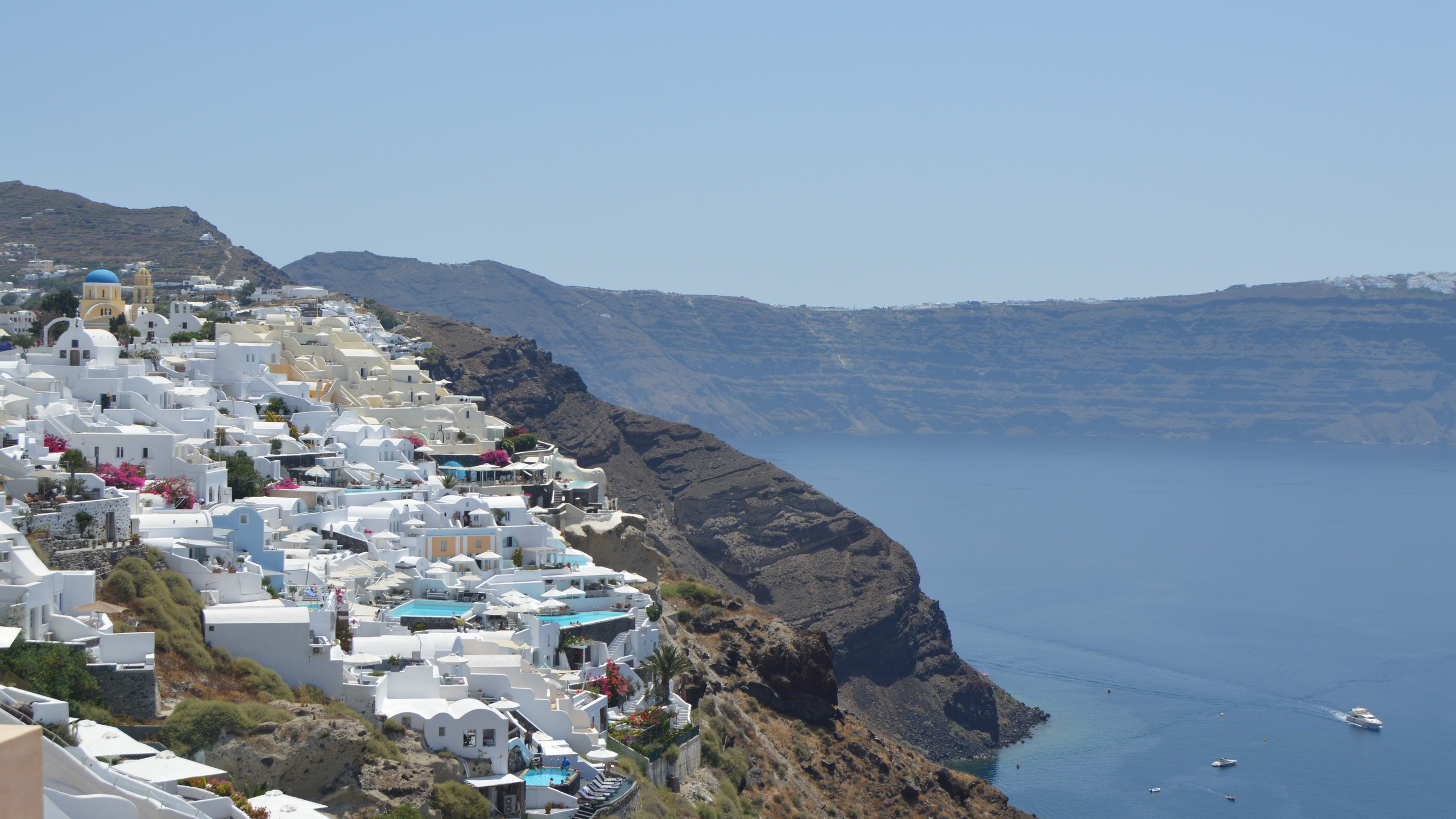 Oia- The view