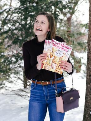 I'M PUBLISHED! February BH&G