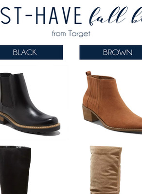 Must-Have Fall Boots From Target