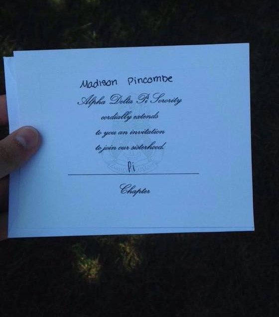 Bid Card