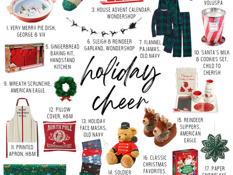 2020 Holiday Cheer Gift Guide