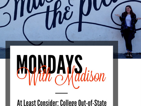 At Least Consider: College Out-of-State