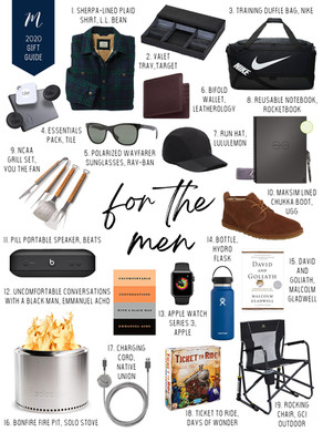 2020 Gift Guide for Men