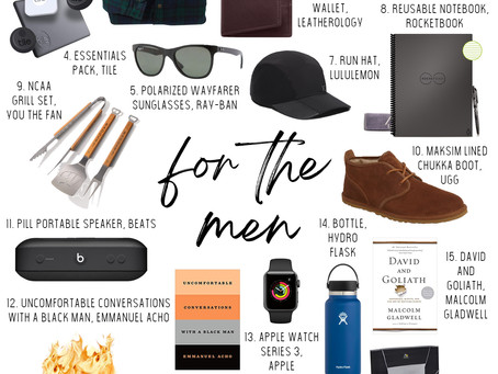 2020 Gift Guide for Men