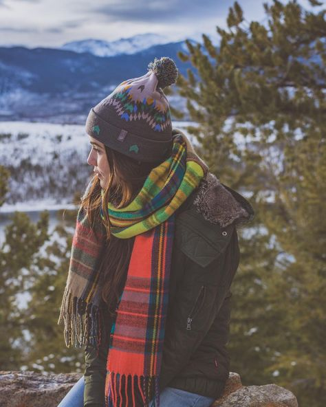 Flannel Scarfs and Fun Hats
